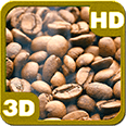 Roasting Coffee Beans Deluxe HD Edition 3D Live Wallpaper for Android