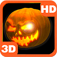 Scary Halloween Pumpkin Mix Deluxe HD Edition 3D Live Wallpaper for Android