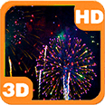 Sky Flower Fireworks Deluxe HD Edition 3D Live Wallpaper for Android