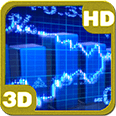 Stock Market Ticker Tape Deluxe HD Edition 3D Live Wallpaper