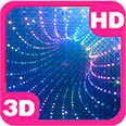 Stunning Tunnel Disco Portal Deluxe HD Edition 3D Live Wallpaper for Android