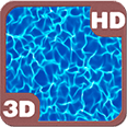 Sunlit Pool Water Reflection Deluxe HD Edition 3D Live Wallpaper