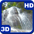 The Lost Waterfall HD Live Wallpaper for Android OS