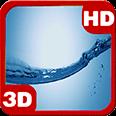 Water Huge Splash Amazing Drop Android Personalization 3D Live Wallpaper download from piedlove.com