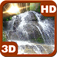 Waterfall Mars Effect Deluxe HD Edition 3D Live Wallpaper for Android