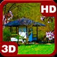 Zen Garden House Sakura Android Personalization 3D Live Wallpaper download from piedlove.com